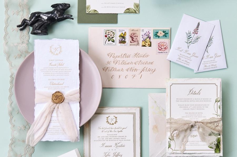 GOLD foil Save the Date Invitation Cards Wedding Invitation pre invite card