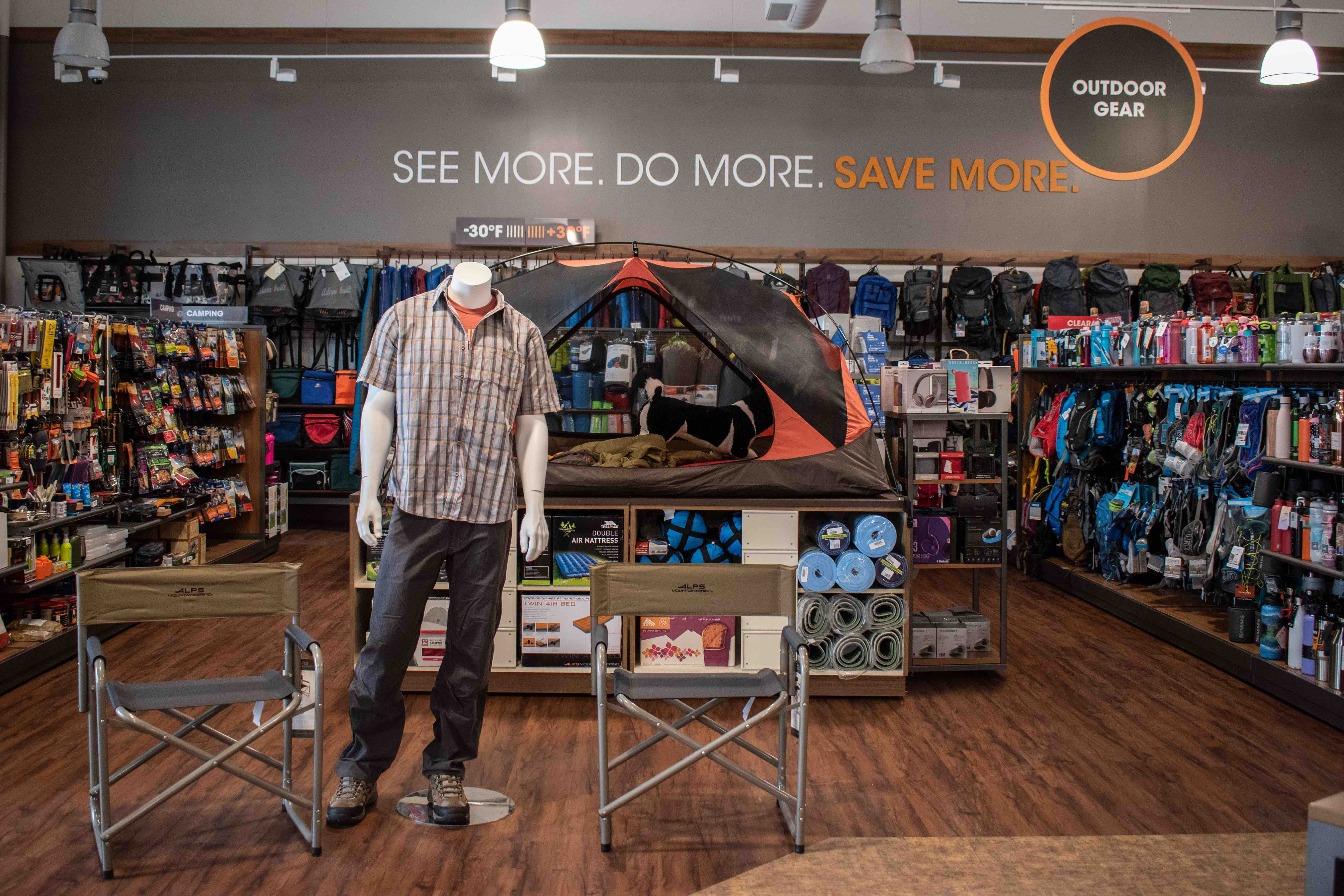 3793371085ea3 Discount retailer Sierra, which specializes in outdoor gear and apparel,  opened two new stores in the Philly area this weekend. / Photograph  courtesy Sierra