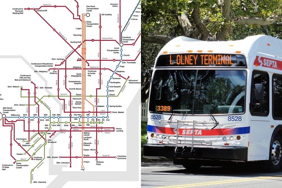 New SEPTA Map Prototypes Aim to Make Riders Rethink the System on berlin bus map, wmata bus map, ac transit bus map, philadelphia bus map, coach usa bus map, boston bus map, chicago bus map, smart bus map, ride on bus map, nj transit bus map, center city bus map, cleveland rta bus map, mbta bus map, vre bus map, metro bus map, kennedy plaza bus map, vancouver bus route map, bart bus map, short line bus map, sf bus map,