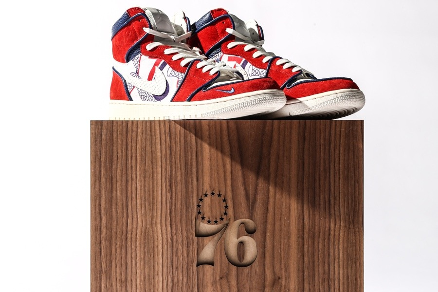 wholesale dealer 28c53 ba2c2 The New Sixers Custom Nike Shoes Are for Celebrities Only