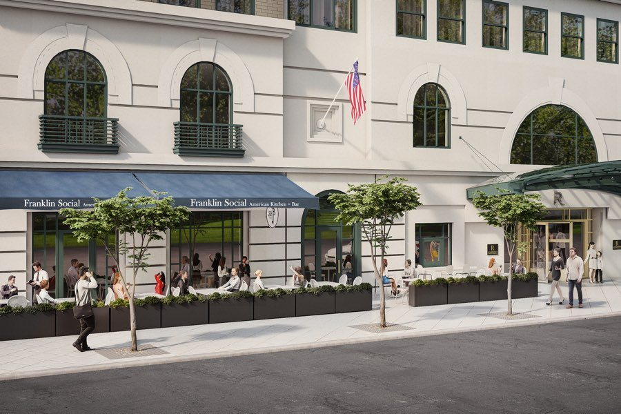 Renaissance Hotel In Old City Revamps Its All Day Cafe And