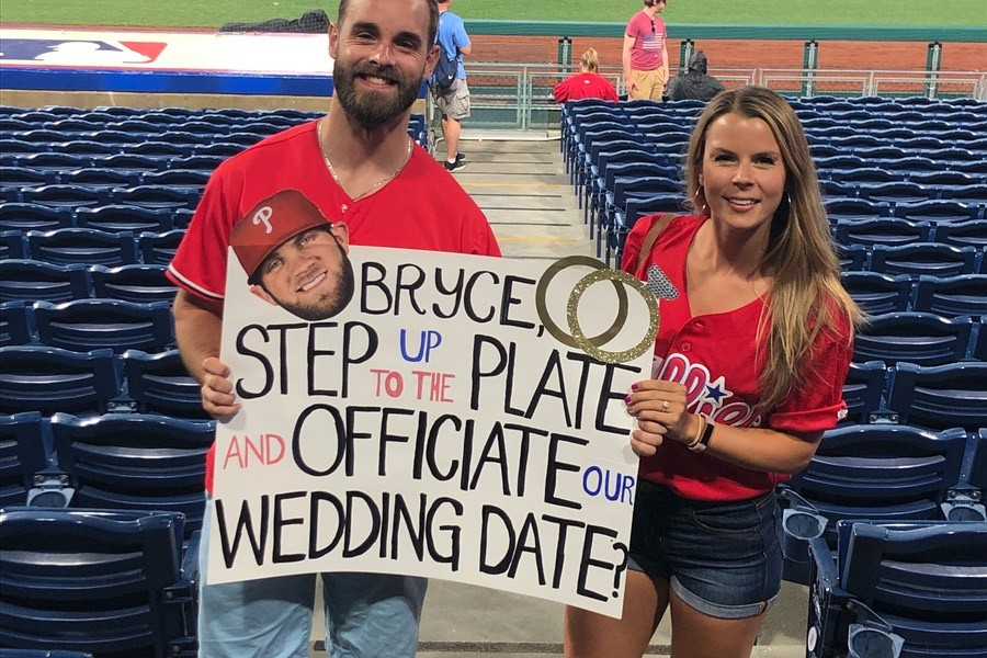 Bryce Harper Wedding.Let S Help This Couple Get Bryce Harper To Officiate Their Wedding
