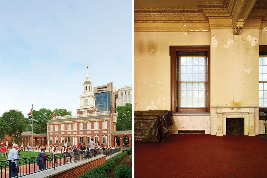 Independence Hall in Philadelphia Pennsylvania south side Photo Print