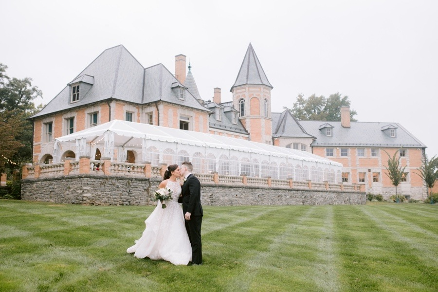 Stunning Castle And Estate Wedding Venues In The Philadelphia Area