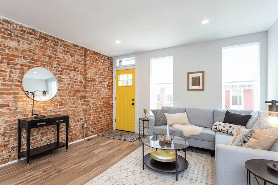 On the Market: Modern Rehabbed Rowhouse in Point Breeze