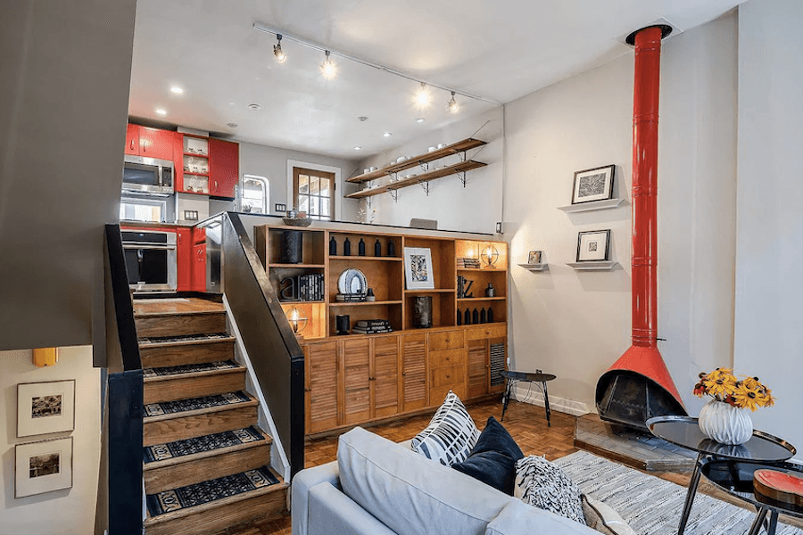 House For Sale Contemporary Split Level Townhouse In Rittenhouse
