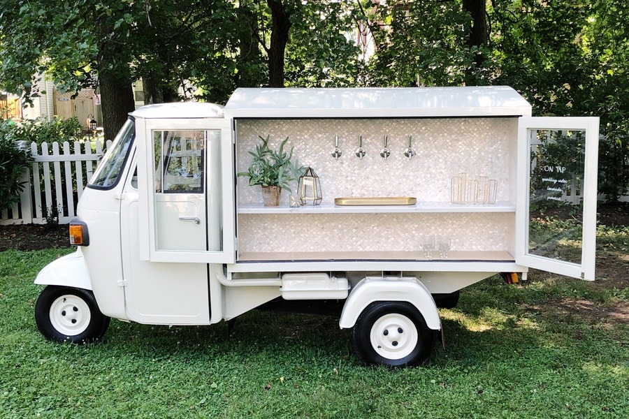All The Adorable Mobile Bar Carts Thatll Come To Your Philly Wedding