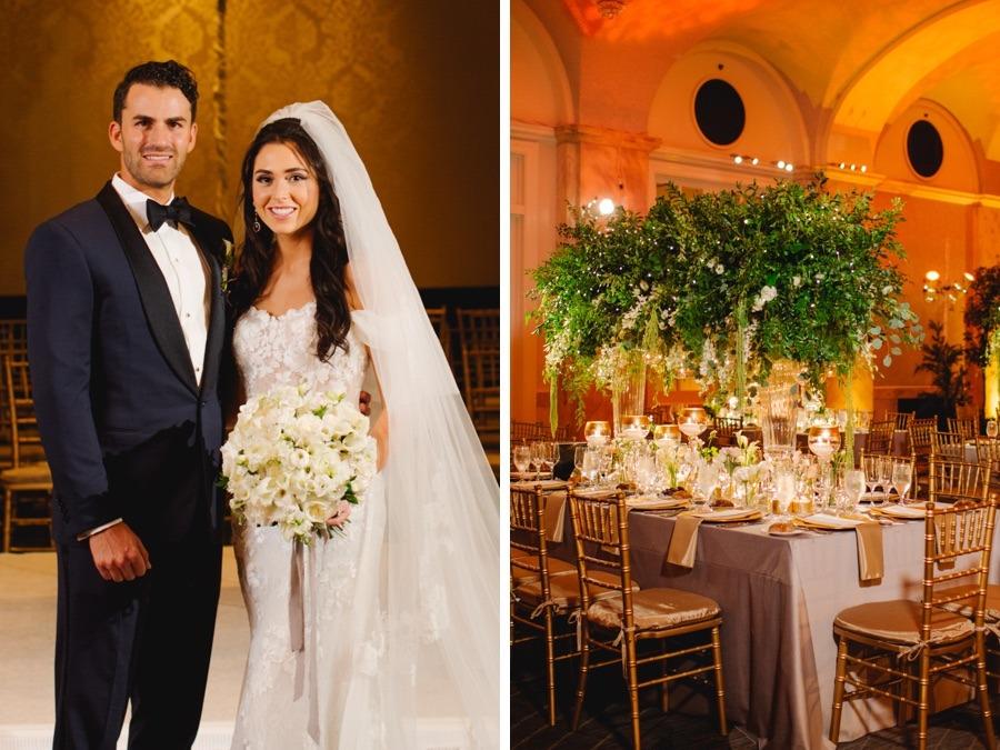 This Ritz-Carlton Wedding Legit Looks Like an Enchanted Forest