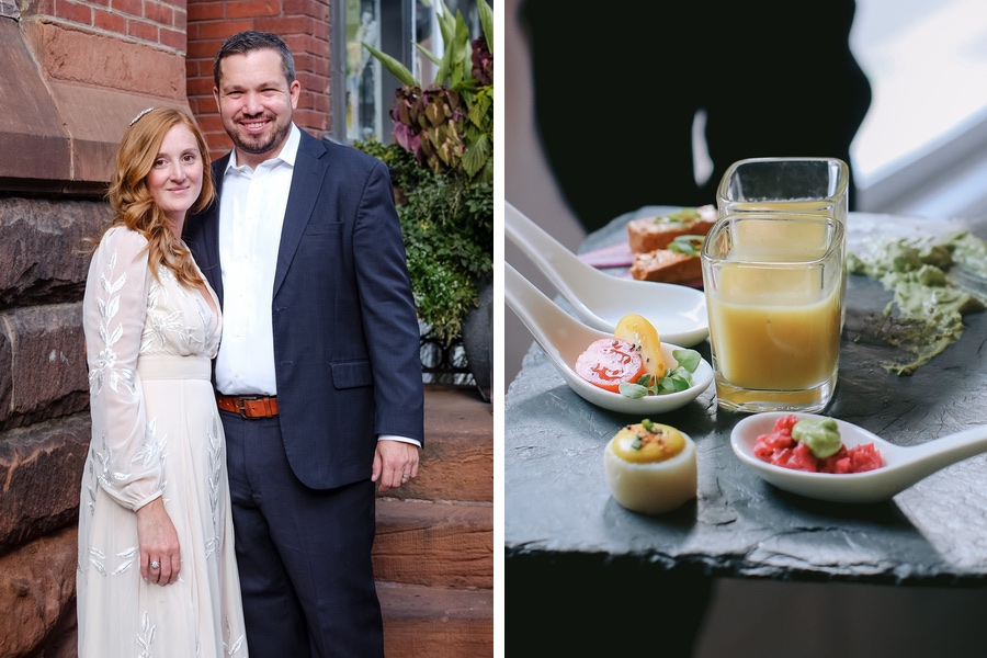A Vegetarian Bride and a Gluten-Free Groom Had a Vegan Wedding at Vedge