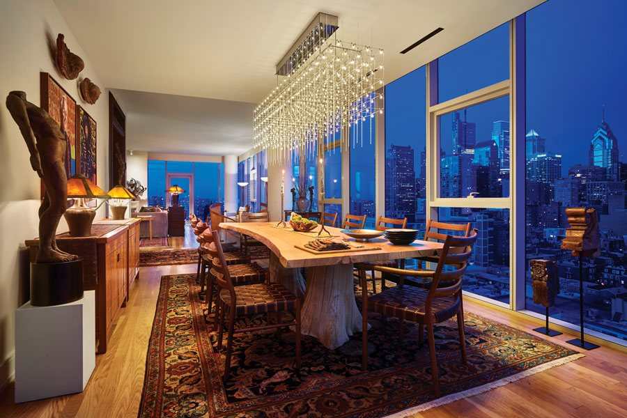 A Philadelphia High Rise Condo Filled With An Art Collector S Treasures